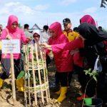 Bhayangkari Polda Sulsel turut aktif Sukseskan Program Polri Peduli Penghijauan