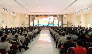 Kunjungan Ke Polda Sulsel, Kapolri Tekankan Netralitas Anggota Polri Dalam Pilkada 2020