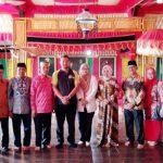Kunjungan Silaturahmi Gubernur Johor Malaysia di Istana Balla Lompoa Gowa