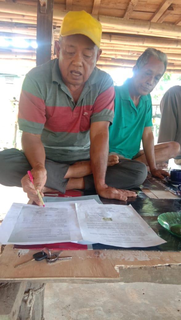 Mantan Kepala Desa Tanah Harapan Nyatakan Tidak Ada Hibah di Atas Hibah