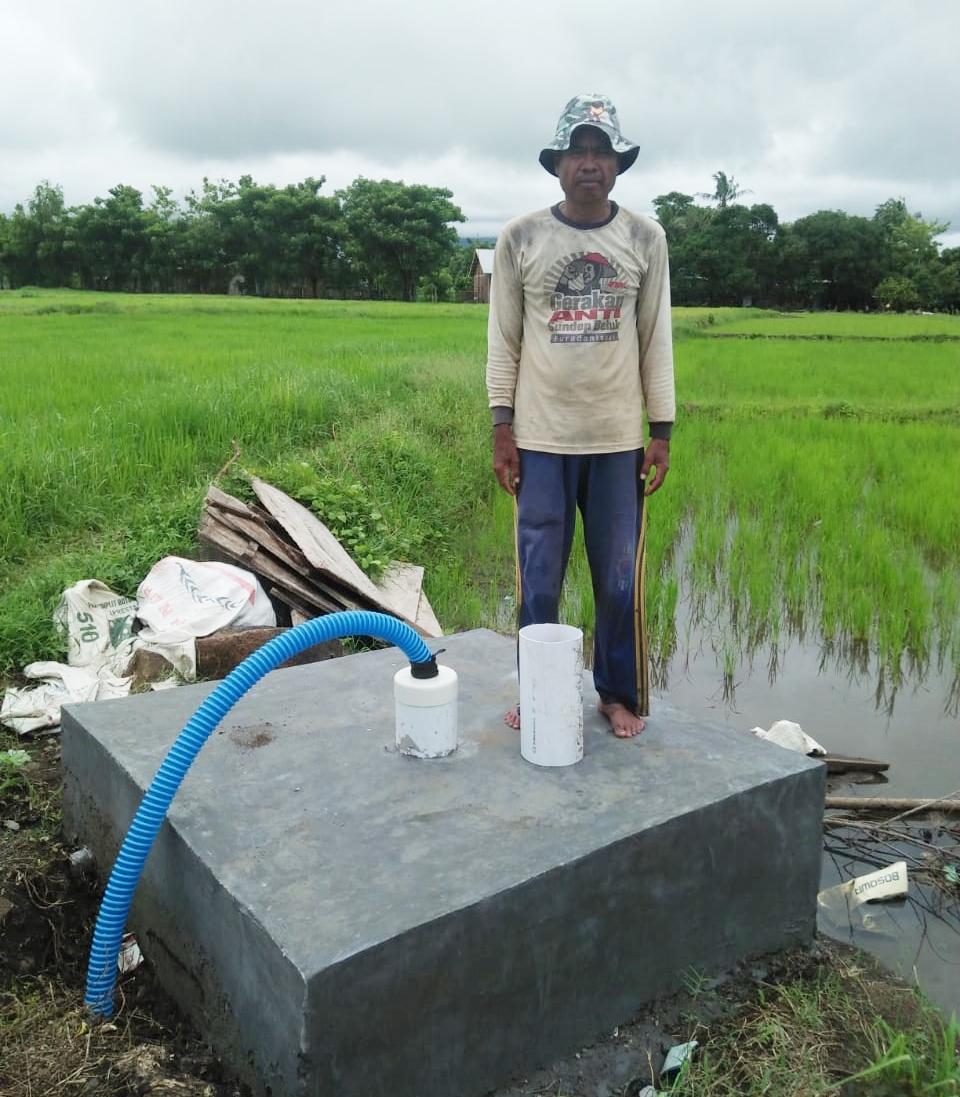 Dengan adanya beberapa titik pengadaan sumur Bor di dusun Mattoangin Desa Barana