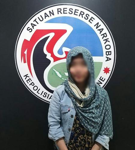 Kedapatan Bawa Sabu, Wanita Asal Palopo di amankan Polsek Lapri
