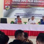 Seminar Empat Pilar, Ajiep Padindang Ajak Pemuda Jaga Ketahanan Bangsa