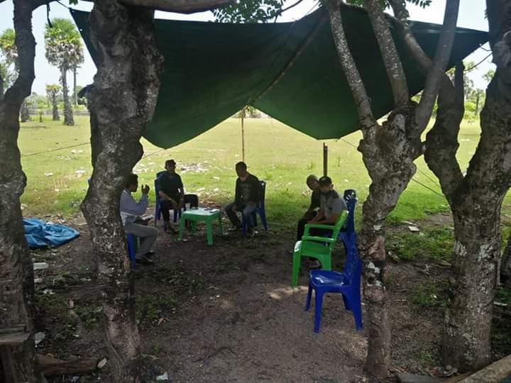Cegah Penyebaran Covid-19, Kades Bontosunggu Perketat Pemeriksaan di Batas Desa