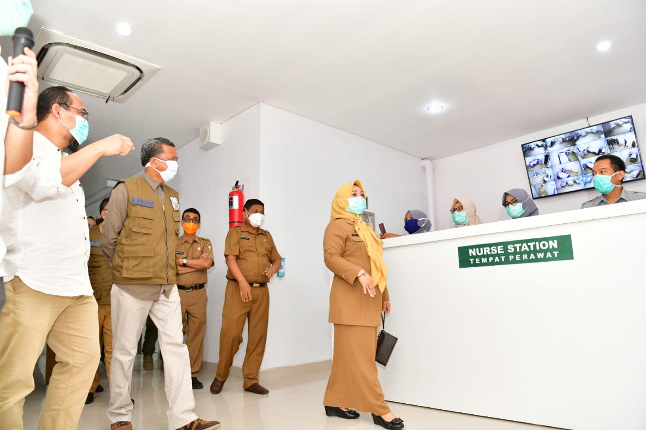 Pemprov Sulsel Bantu 1000 APD dan 500 Rapid Tes ke RSUD Kota Makassar