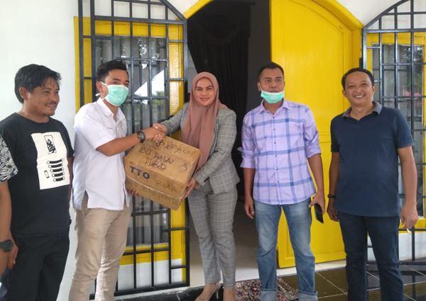 PDUI Jeneponto Terima Bantuan APD dari Wakil Ketua DPRD Jeneponto