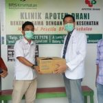 Aesculapius Makassar Serahkan Bantuan APD Kepada PDUI Jeneponto