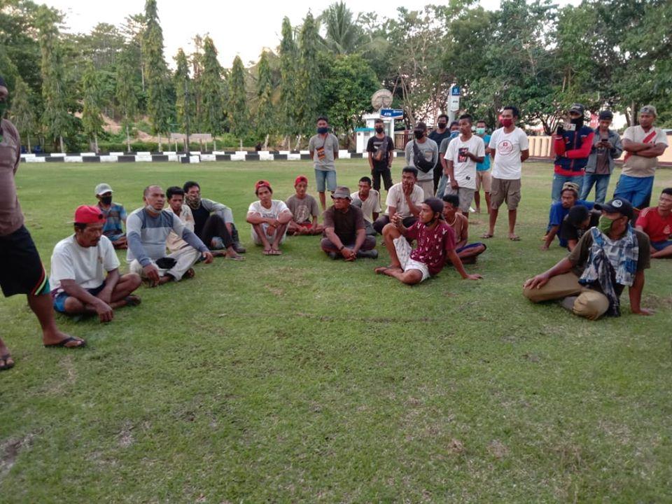 PT IWIP Dinilai Kewalahan Tunjukan Bukti Pembayaran Lahan II desa Woekob