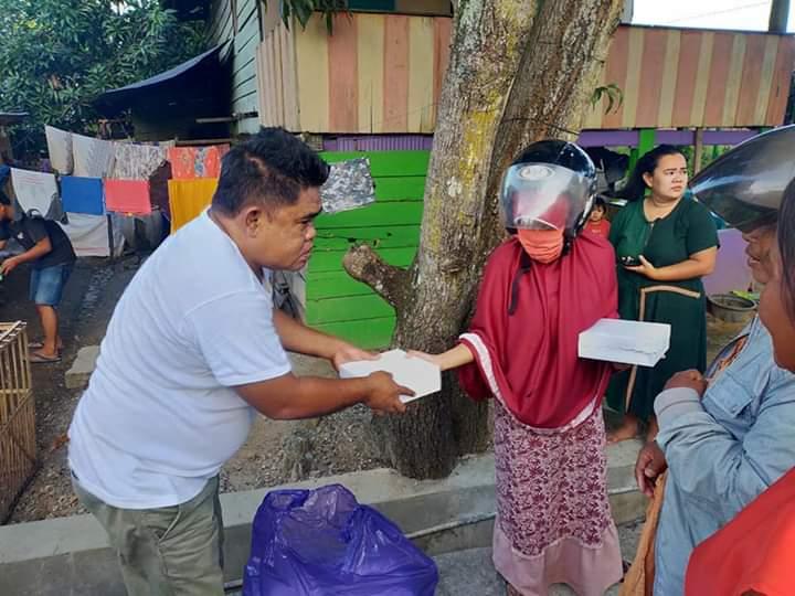 Hari ke 10 Ramadhan, Dapur Umum Polres Bone Kembali Bagikan Paket menu Buka Puasa