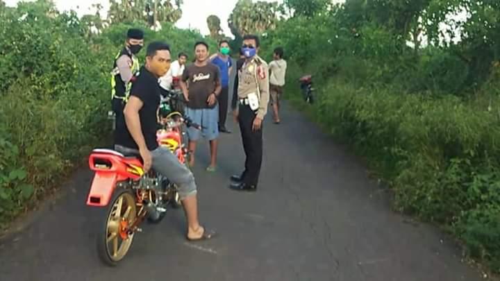 Tim Bali SATLANTAS Polres Jeneponto Kembali Amankan 4 Unit Motor