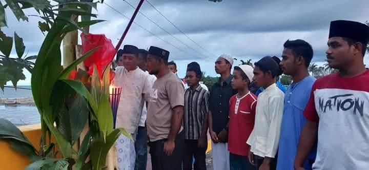 Sambut Malam Latul Qadar, Wabup Imo Bakar 1000 Obor Bersama Komunitas Ngaku Rasai