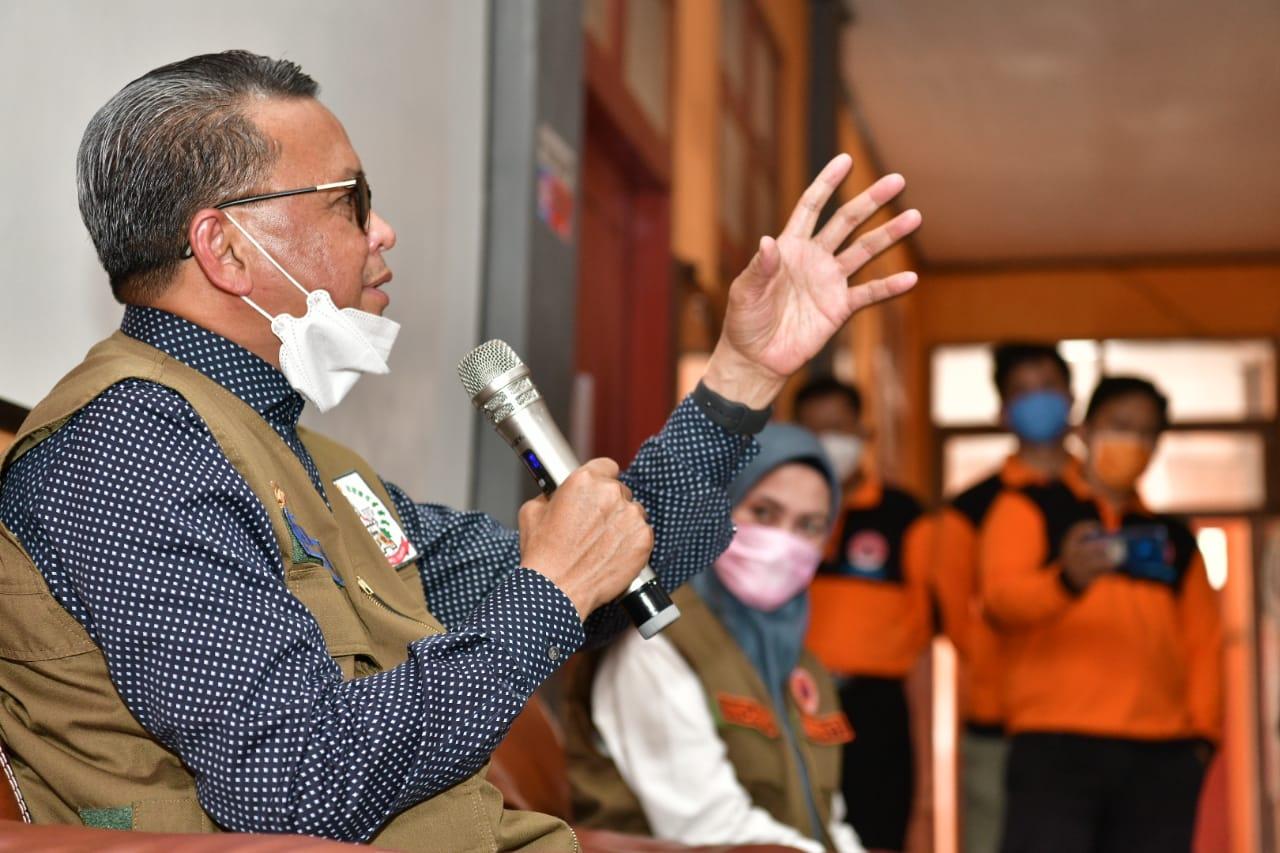 Keliling 11 Daerah Serahkan Bantuan Donasi Covid, Nurdin Abdullah: Luar Biasa Care Berbagai Pihak