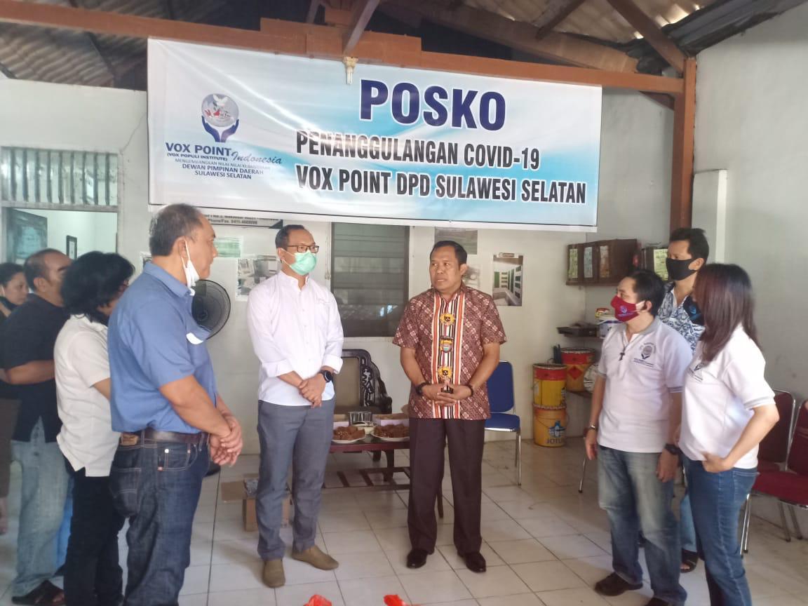 Alumni Angkatan 89 Akpol Batalyon Dharana Lestari Sumbang Ribuan Paket Sembako ke DPD VOX POINT Sulsel