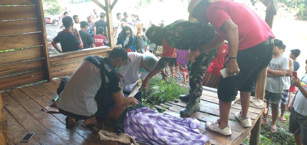Diduga Menyeberang Saat Air Sungai Deras, Mayat Wanita di Bone Ditemukan Nyangkut di Pohon