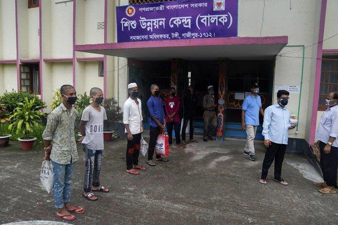 Pengadilan Bangladesh membebaskan tersangka anak karena risiko virus