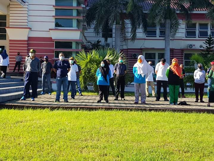 Pasca Apel pertama ASN di Fase New Normal, Bupati Jeneponto Pimpin Jumat Bersih