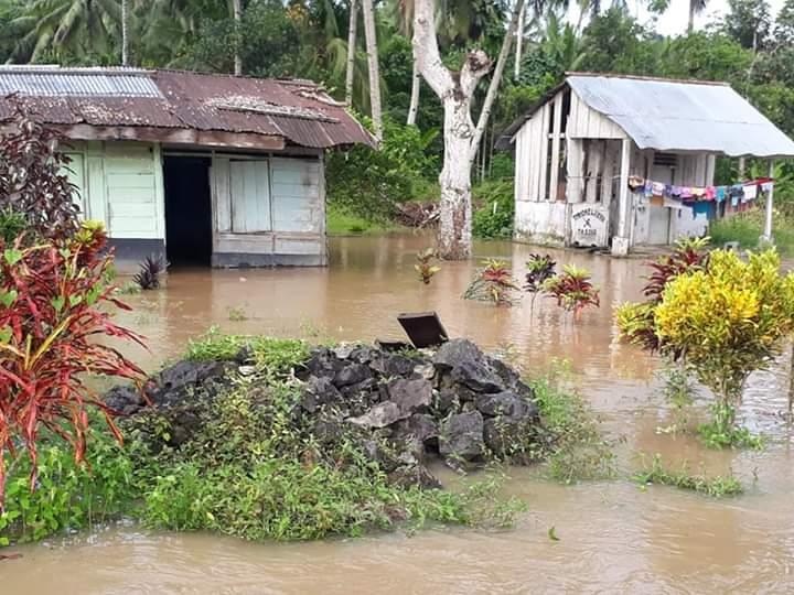 Akibat Luapan Sungai Kluting, Puluhan Rumah Warga Terendam Banjir
