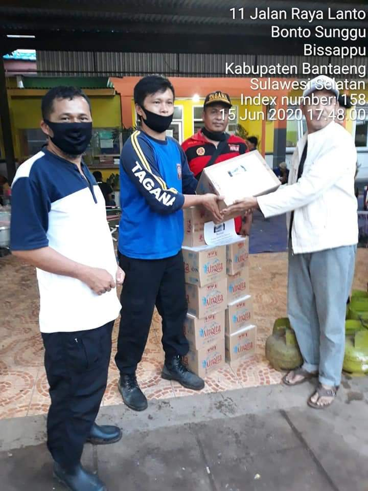 Yayasan Redena Indonesia Wilayah Jeneponto - Bantaeng Peduli Korban Bencana Alam