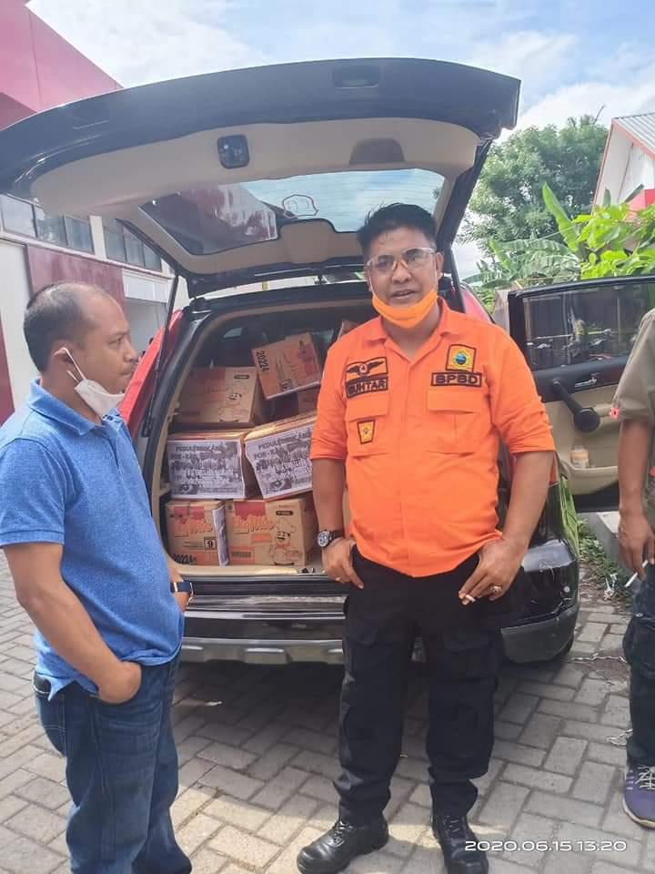 Pasca Banjir Bandang di Bantaeng, Anggota DPRD Bulukumba Fraksi Demokrat Salurkan Bantuan