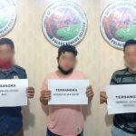 Kedapatan Bawa Sabu, Tiga Pemuda asal Kecamatan Angata di Ringkus Polisi