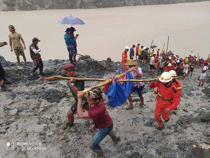 Lebih banyak mayat ditemukan di lokasi tambang longsor Myanmar