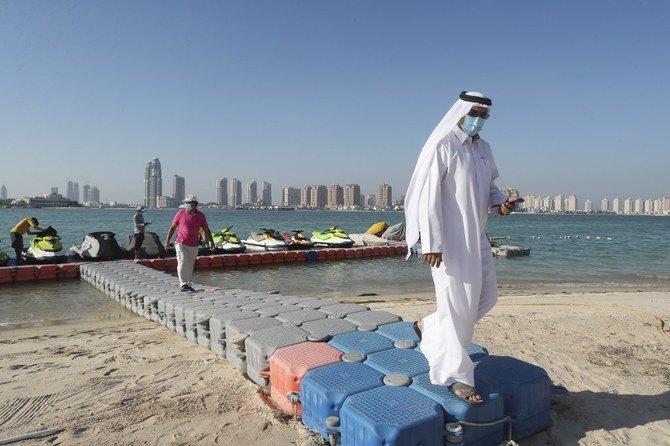 Kasus coronavirus Qatar melewati angka 100.000