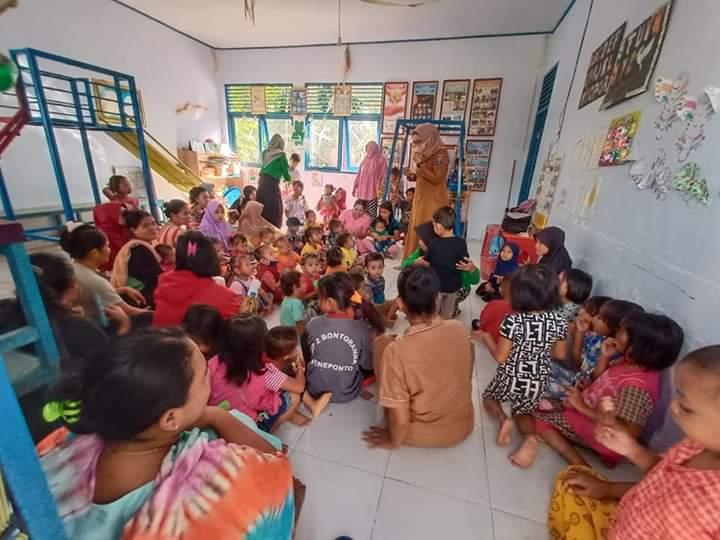 Cegah Stunting, Pemerintah Desa Maero Rutin melakukan peningkatan gizi melalui pemberian makanan tambahan