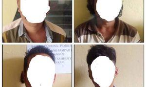 Diduga Terlibat Pembunuhan saat pesta Miras, 4 Lelaki di Bone Diringkus Polisi