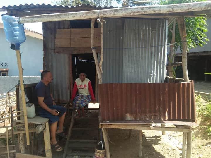 Hidup sebatang kara di Gubuk Reyot, Tuna Netra di Bontorannu Butuh Perhatian Pemerintah