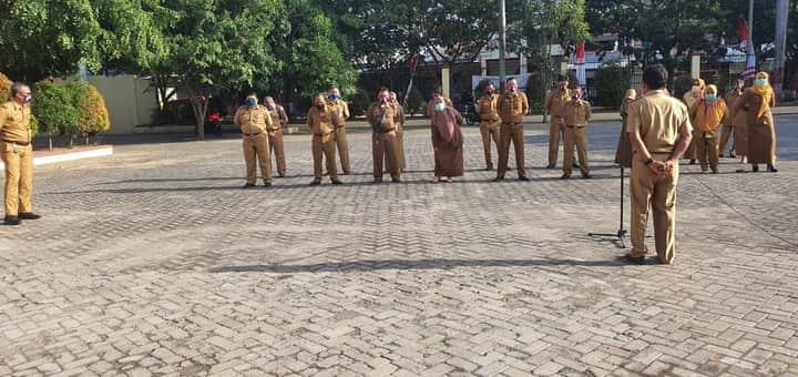 Sekretariat DPRD Kabupaten Jeneponto Rutin Laksanakan Apel Pagi
