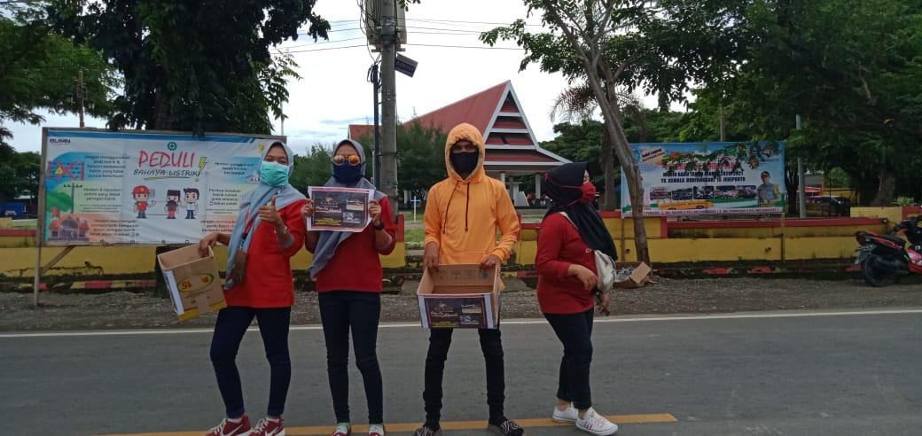 DPD Seniman musik dangdut indonesia (SEMUT) Kabupaten Jeneponto turun ke jalan melakukan penggalangan dana