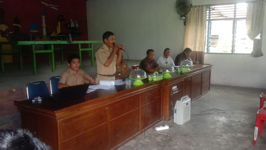 Revitalisasi Pembentukan LPMD Desa Bajiminasa di Hadiri Perangkat Desa