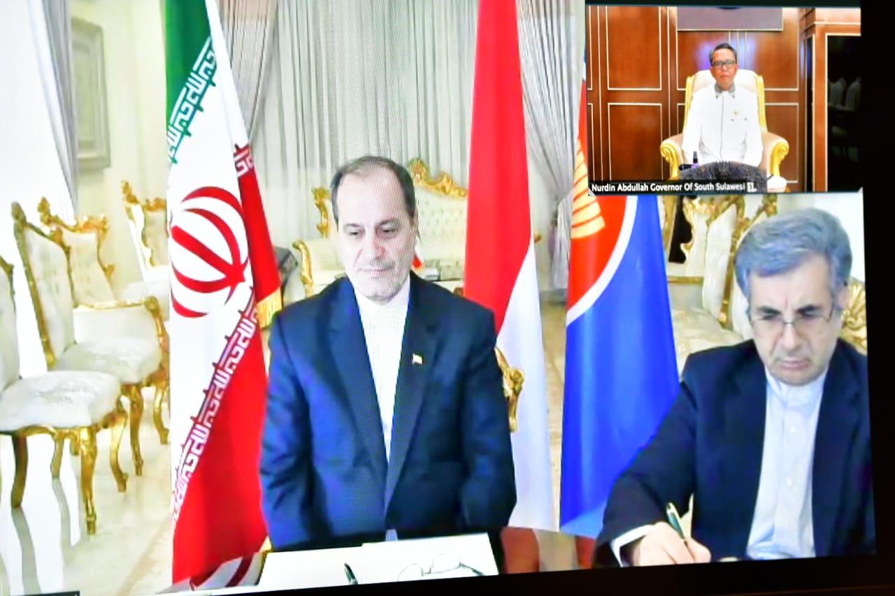 Gubernur Sulsel dan Duta Besar Iran Jajaki Kerjasama Penanganan Covid-19 hingga Air Bersih
