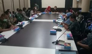Rapat Bersama membahas Penanganan Box Ikan Sedikit Alot, Ini kata Kepala UPT Pasar