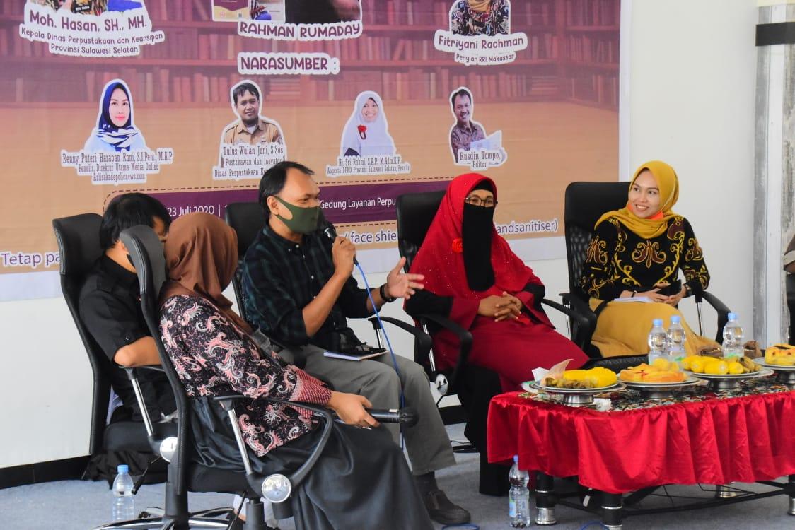 Launching Buku Rahman Rumaday dihadiri sejumlah Anggota DPRD