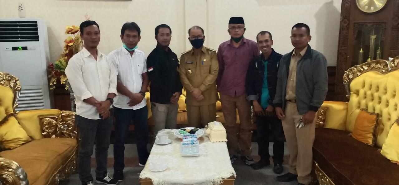 BOP di Hilangkan,Asosiasi BPD se-Konsel Datangi Rujab Bupati