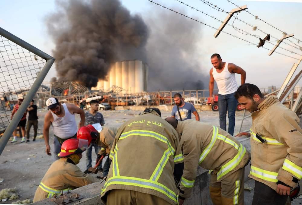 Sedikitnya 135 Tewas, 5.000 terluka dalam ledakan dasyat yang menghancurkan Beirut