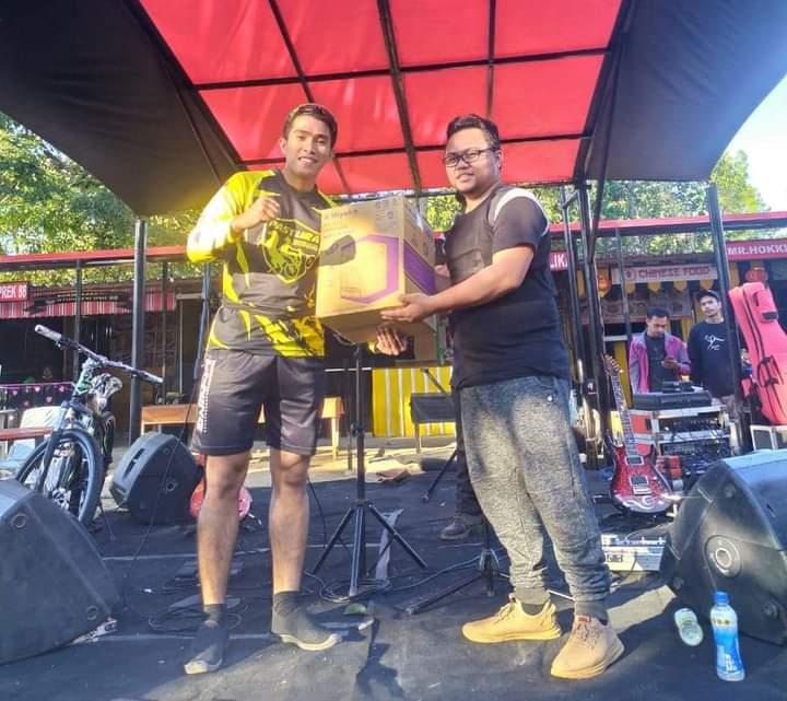 Kadispora Jeneponto Bersama Jajaran Ikut Serta Dalam Kegiatan Fun Bike di Malino