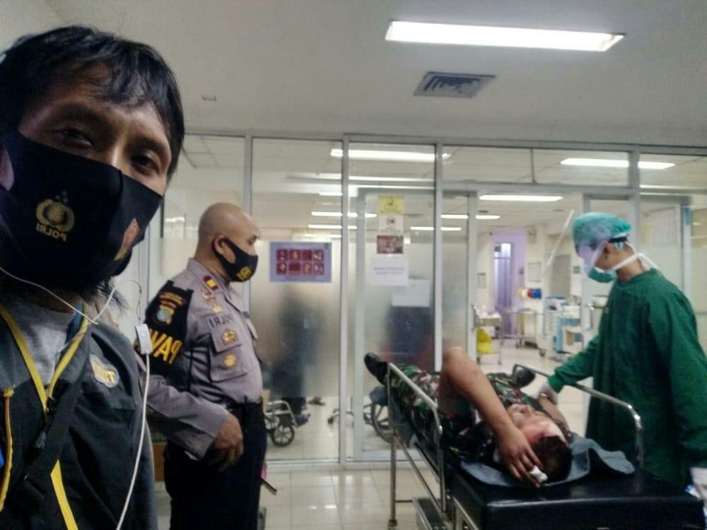 Video: Curi sepeda motor, Oknum Pecatan TNI kenakan Seragam Dinas diamuk warga