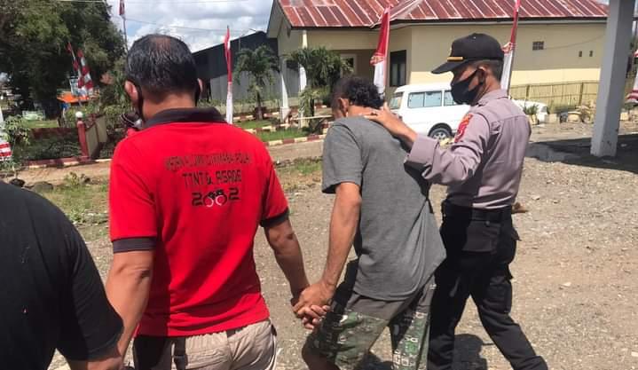 Ancam korban dengan Senjata, Perakit sejata di Bone di Bekuk Polisi
