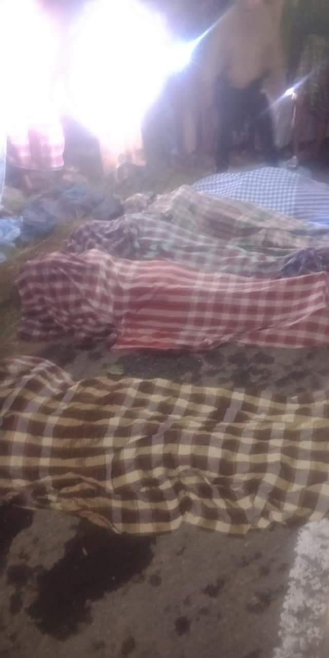 Mobil Terjun ke sungai, 6 pengantar pengantin Asal Jeneponto dikabarkan Tewas di Sinjai