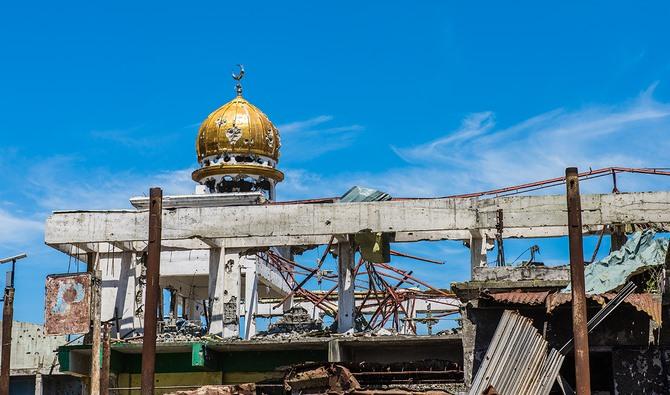 Hancur saat dilanda perang 2017, Masjid di Marawi Filipina mulai di rekonstruksi