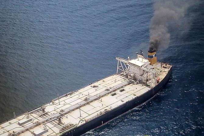 1 hilang, 1 terluka dalam kebakaran kapal tanker minyak didekat Sri Lanka