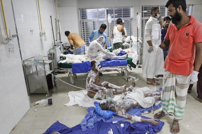 Ledakan di Masjid Bangladesh tewaskan 17 Jemaah