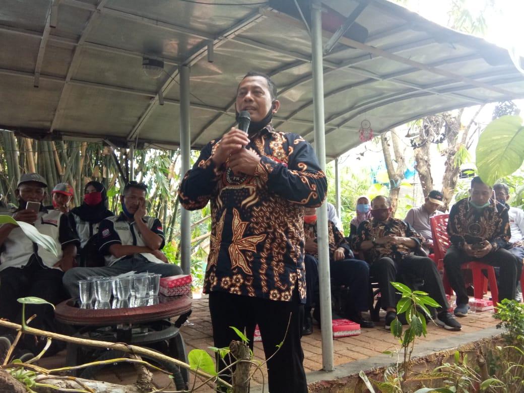 Sosialisasi Empat Pilar, MPR RI H. Ajiep Padindang ajak LPM kota makassar lakukan pergerakan pemasyarakat Nilai nilai pancasila