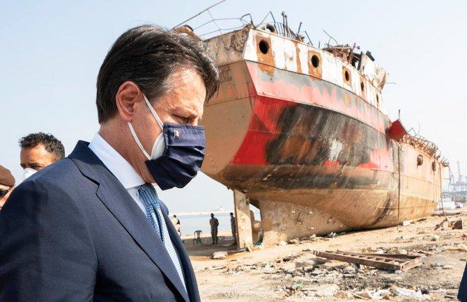 Pasca Ledakan Dasyat, Perdana menteri Italia berjanji untuk terus mendukung Lebanon