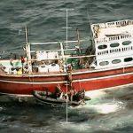 Kapal perang Inggris menyita 450 kilogram sabu di Laut Arab
