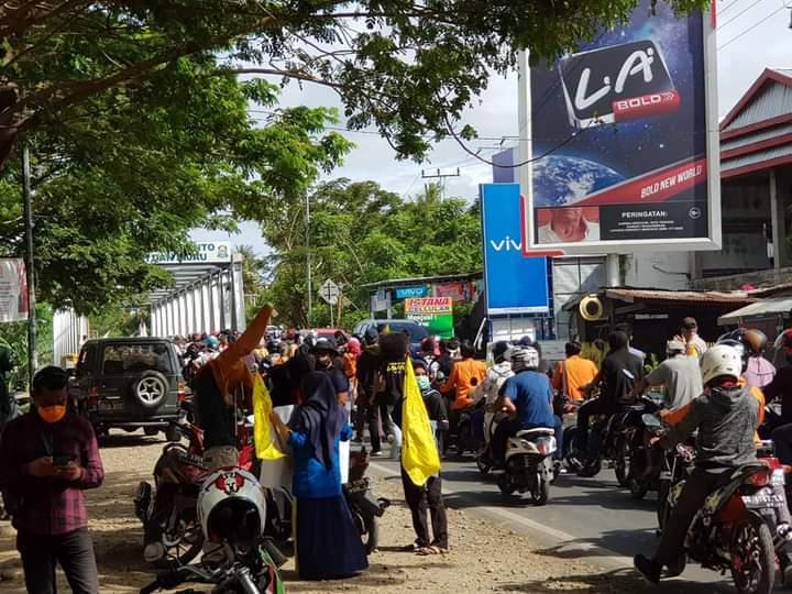 Kabag Humas Apresiasi Aksi Damai Elemen Mahasiswa dan pemuda Jeneponto berjalan Lancar