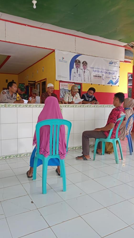 Sama - Sama Bawa Alat Bukti, Mediasi Kedua Belah Pihak telah disepakati Didepan unsur pemerintah desa Balumbungang
