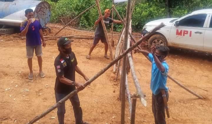 Protes Pemagaran Jalan Usaha Tani, Warga Pundoho dan Andomesinggo Konawe Bongkar Blokade